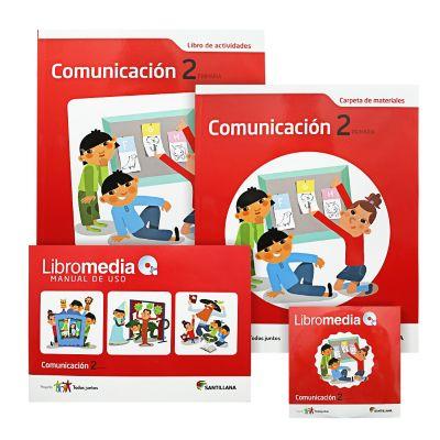 Santillana Libro de Comunicaci&oacuten t. Juntos 2