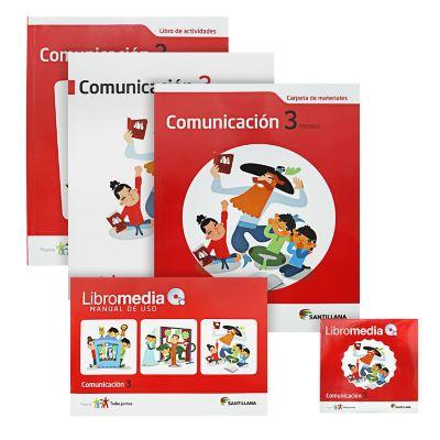 Santillana Libro de Comunicaci&oacuten todos Juntos 3