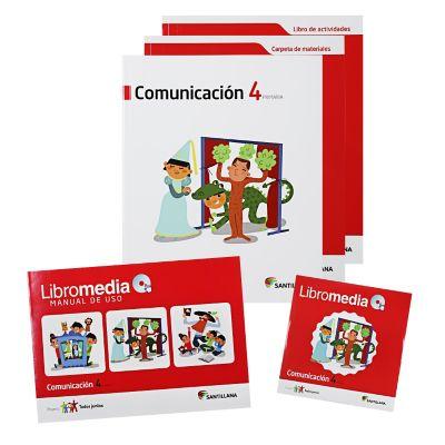 Santillana Libro de Comunicaci&oacuten t. Juntos 4