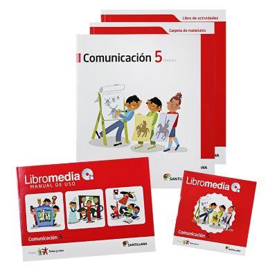 Santillana Libro de Comunicaci&oacuten todos Juntos 5