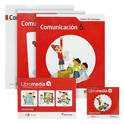 Santillana Libro de Comunicaci&oacuten t. Juntos 6