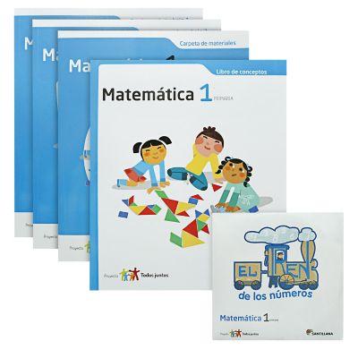 Santillana Libro de Matem&aacutetica t. Juntos 1