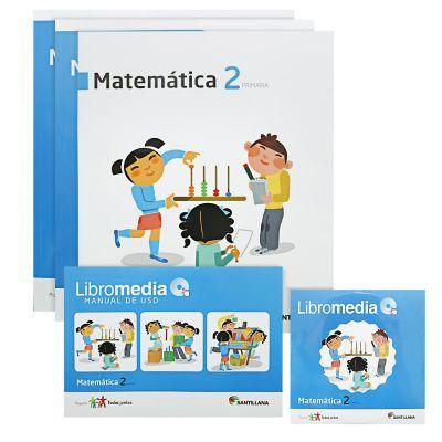 Santillana Libro de Matem&aacutetica t. Juntos 2