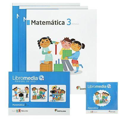 Santillana Libro de Matem&aacutetica t. Juntos 3