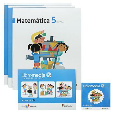 Santillana Libro de Matem&aacutetica t. Juntos 5