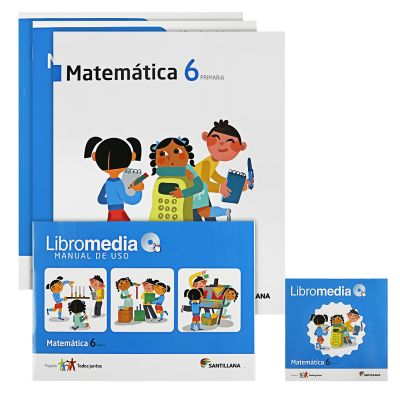 Santillana Libro de Matem&aacutetica t. Juntos 6