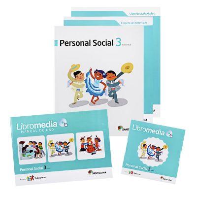 Santillana Libro de Personal social t. Juntos 3