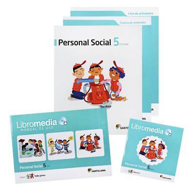 Santillana Libro de Personal social t. Juntos 5