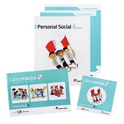 Santillana Libro de Personal social t. Juntos 6
