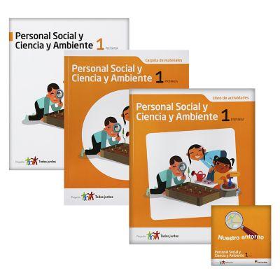 Santillana Libro de Personal social &amp c. Amb. T. Juntos 1