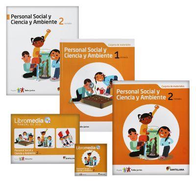 Santillana Libro de Personal social &amp c. Amb. T. Juntos 2