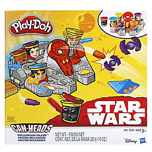 Star Wars Millennium Falcon Featuring Can-Heads