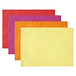 Set X6 Individuales de Colores