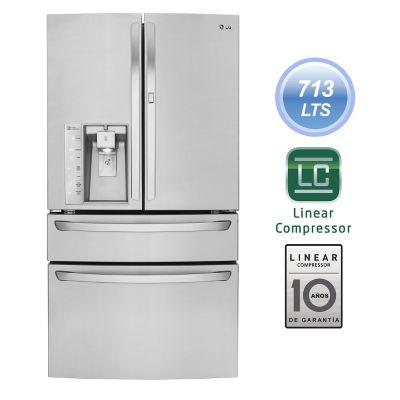 LG Refrigeradora 713 lt. GM84SDS Inox