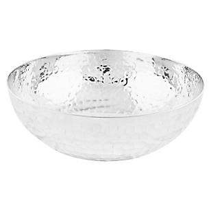Adorno Bowl Martillo Aluminio 25 cm