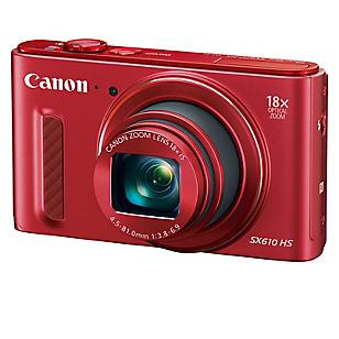 Cámara Digital PowerShot SX610 HS 20 MP Rojo
