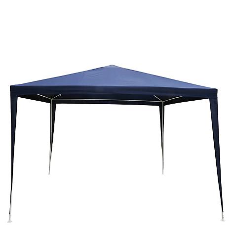 Toldo garden design 3 x 3 azul for Falabella terrazas