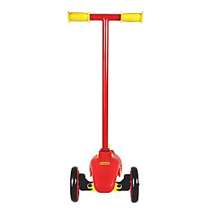 Scooter Rojo con Amarillo
