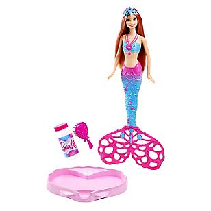Muñeca Sirena Burbujas Mágicas
