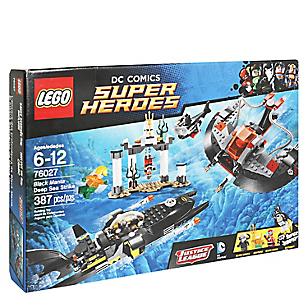 Set DC Comics Super Heroes El Ataque Submarino de Manta Negra
