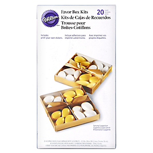 Kits de Cajas de Recuerdos Blanco