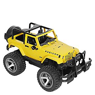 Jeep a Radio Control Rubicon con Timón y Cargador