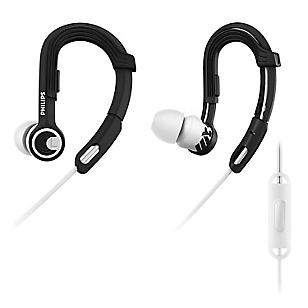 Audífono Deportivo SHQ3305WS/00 con Micrófono Negro