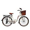 Bicicleta de Mujer Romantic Beige Aro 26