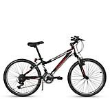 Bicicleta Unisex Daytona Negro Aro 24