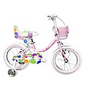 Bicicletas para Niñas Butterfly Rosado Aro 16