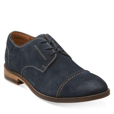 Clarks Zapato Hombre Exton Cap