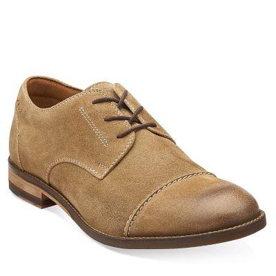 Clarks Zapato Hombre Exton Cap 26107748