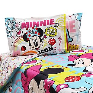 Disney Set Edredón 1,5 plz Minnie Fun Lila