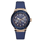 Reloj de Silicona Azul para Mujer