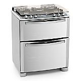 Cocina 5 Quemadores Nutri Vapor 76 DVX inox