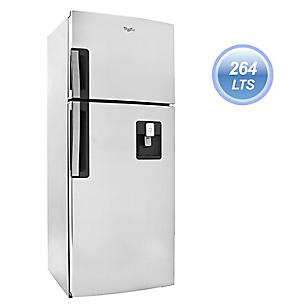 Whirlpool Refrigeradora con Dispensador WRW25BKGWW 264 lt Inox
