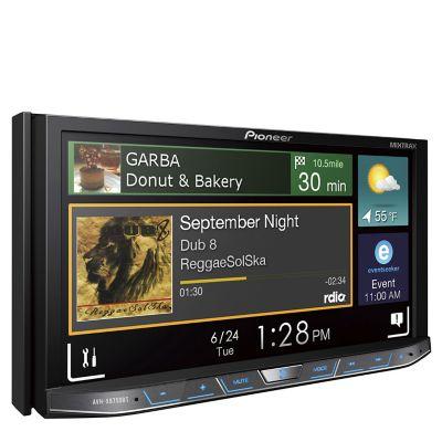 Pioneer Autoradio DVD Audiovisual AVH-X8750BT 7 Negro