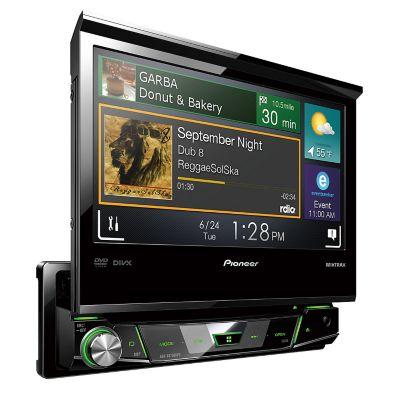 Pioneer Autoradio DVD Audiovisual AVH-X6750DVD 7 Negro