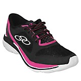Zapatillas Mujer Strech Negro Pink
