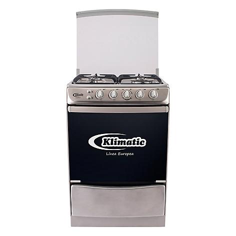 Cocina a gas klimatic tedesca 4 hornillas inox for Ofertas cocinas a gas