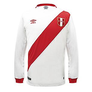 Camiseta Hombre Perú Blanca