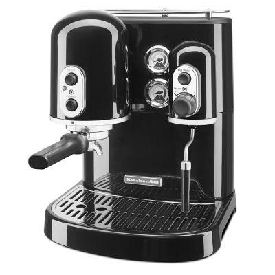 KitchenAid Cafetera Espresso 6 Tazas Negro Onyx