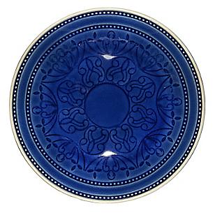Plato Crackelado Azul Gipsy 20cm