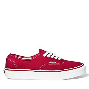 Zapatillas Urbanas Mujer Authentic Rojo