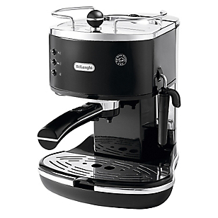 Cafetera Espresso ECO310.BK Icona Negro