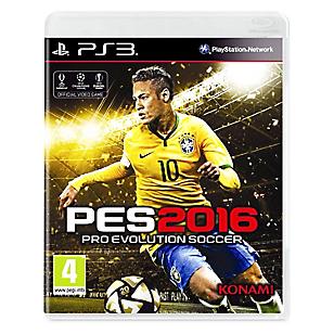Videojuego para PS3 Pro Evolution Soccer 2016