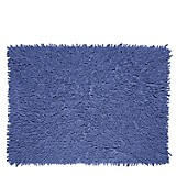 Piso de Baño Básico Shaggy Azul
