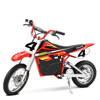 Razor Motito MX500 Dirt Rocket Rojo