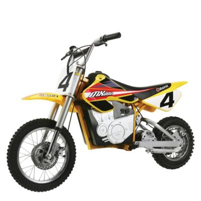 Razor Motocross Bike MX650 Dirt Amarillo