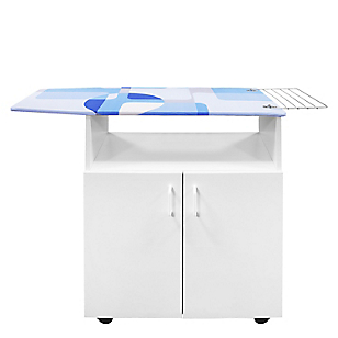 Mueble Planchador Janeiro Blanco
